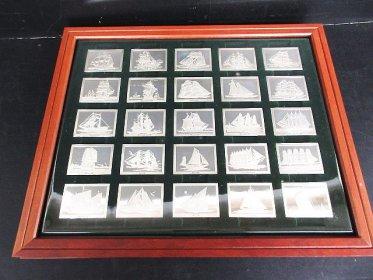 フランクリンミント シルバープレートTHE GREATSAILING SHIPS of HISTORY(銀・シルバー)買取させて頂きました