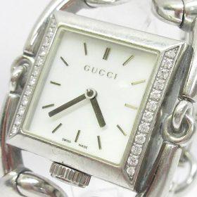 GUCCI 116.3 シニョーリア 腕時計 買い取りました♪ 付属品がなくても電池切れでも大丈夫!!