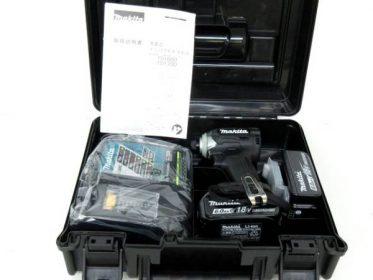 MAKITA マキタ 充電式インパクトドライバ TD170DRGXB 18V 6.0Ah バッテリー2個 充電器付 未使用品 買い取りました♪ 電動工具 DIY用品高価買取!
