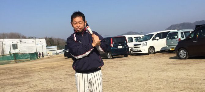 野球の試合に行ってきました!!