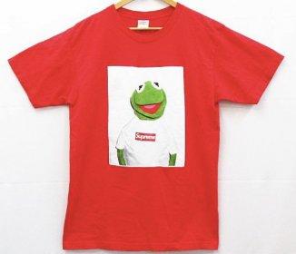 激レア 美品 SUPREME シュプリーム 08SS Kermit カーミット Tシャツ フォトプリント 半袖 ボックスロゴ 赤 買取いたしました。リサイクルショップ リバース 三原 尾道 東広島