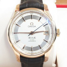 オメガ デビル アワービジョン 金無垢 アリゲーターレザー 買取させていただきました♪ ROLEX、OMEGAなど腕時計高価買取中!!