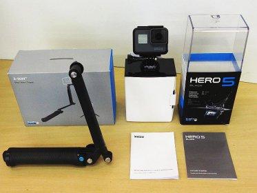 GoPro HERO 5 CHDHX-501-JP アクションカメラ 美品 買取ました!! 家電 カメラ テレビ オーディオ スマホ AV製品強化買取中!! リバース 東広島 三原 尾道