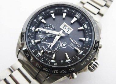 SEIKO アストロン GPS衛生電波 ソーラー 8X42-0AC0-3 ビッグデイト メンズ腕時計 買取致しました!