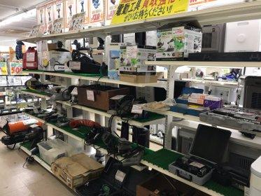 ご不用になった電動工具買取致します。リサイクルショップ リバース 尾道店 尾道市天満町15-12