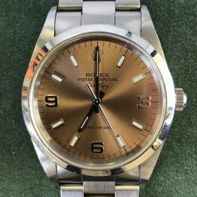 ROLEX ロレックス エアーキング 14000 P番 メンズ腕時計 買取りました!! リサイクルショップ リバース東広島店 法務局向かい