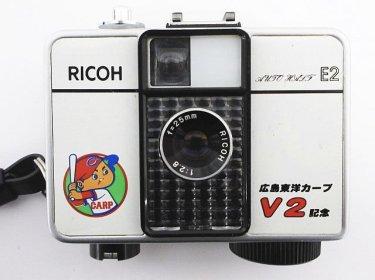 激レア 希少なRICOH リコー AUTO HALF E2 広島カープV2記念モデルカメラ買取いたしました☆ 壊れたカメラ、フィルムカメラも買取致します。リサイクルショップ リバース尾道店