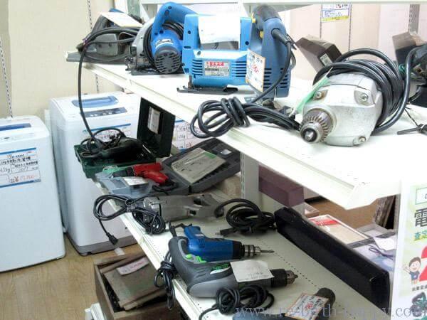 電動工具コーナー