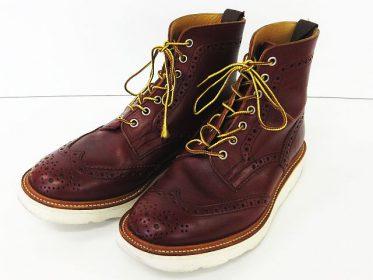 トリッカーズ ロストコントロール ブーツ 入荷しました!! REDWING DANNER ホワイツ ブーツ 強化買取中!! リバース東広島 西条 衣類 家電 工具 買取