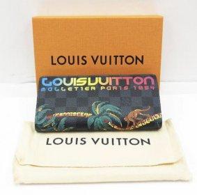 LOUIS VUITTON ルイ ヴィトン N63509 ポルトフォイユ・ブラザ 長財布 ダミエ・コバルト 入荷しました♪
