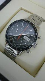 タグホイヤー カレラ クロノグラフ 腕時計買取りいたしました✩