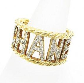 可愛いCHANELのリング買取致しました✩ ブランド ダイヤ付き 貴金属買取りいたします!