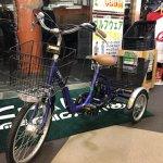 美品中古 電動三輪自転車入荷しました☆ リサイクルショップ リバース東広島店 東広島市 西条 上市町 7-42 自転車買取いたします。