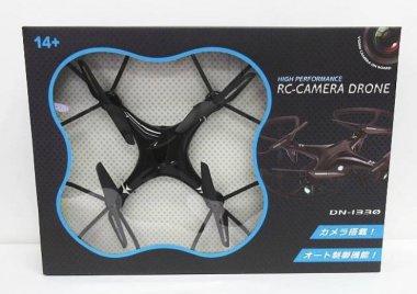 未使用 ドローン RC-CAMERA DRONE DN-1330 TOHO カメラ搭載 オート機能制御付き 買い取り致しました!オモチャ ラジコン 買取