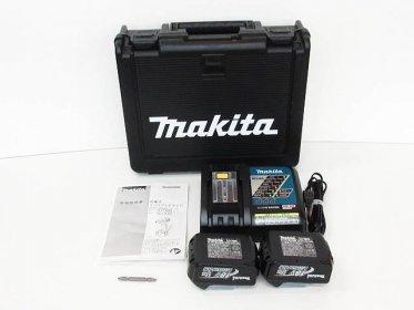 Makita 充電器×1 バッテリー×2 取扱説明書 専用ケース 買取りました!