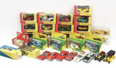 POLITOYS MATCHBOX ミニカー レトロ品大量に買取いたしました。