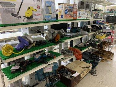 リバースでは工具を高値買取強化中!!三原店 尾道店 東広島店 インパクト、チェーンソー、丸のこ