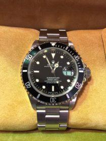 ロレックス ROLEX サブマリーナ 16610 T番 買い取りました♪ オメガ カルティエなど高級腕時計は高価現金買取!!