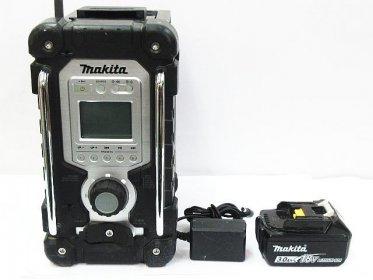 makita 防水防塵ラジオ MR103 ACアダプター + 18V 3.0Ah バッテリー買取りました!