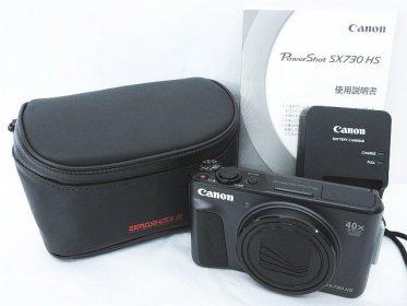Canon キヤノン Power Shot SX730 HS 約2030万画素 コンパクトデジタルカメラ買取りました!
