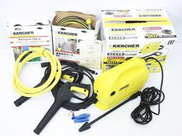 KARCHER ケルヒャー 高圧洗浄機 家庭用 K2.01 K2.010M買取りました!