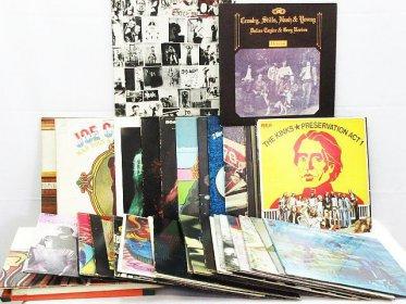 洋楽 LPレコード 36枚 ロック ポップス 70年代 80年代 ローリングストーンズ FOCUSなど 買取りました!