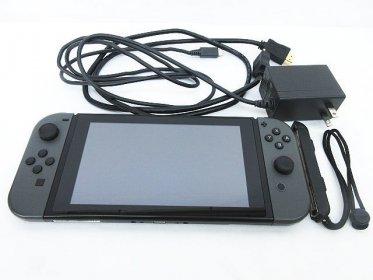 任天堂 Nintendo Switch HAC-001 (ジョイコン グレー)お買取しました!