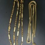 金 K18 ネックレス 2本 貴金属