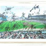 広島東洋カープ Carp 2011年 選手会 サイン パネル 16今村投手 直筆サイン入り