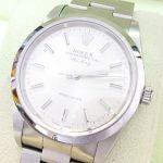 ROLEX エアキング Ref.14000M Z番 シルバー文字盤 腕時計 買い取りました♪ サブマリーナ デイトジャスト エクスプローラー デイトナ シードゥエラー ヨットマスター 高価現金買取 リサイクルショップ リバース 三原 尾道 東広島 買取 換金