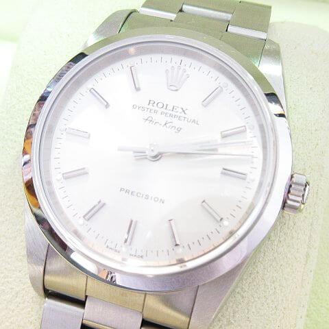 ROLEX エアキング Ref.14000M Z番 シルバー文字盤 腕時計