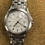 OMEGA オメガ シーマスター 120M クォーツ メンズ腕時計