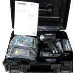 MAKITA マキタ 充電式インパクトドライバ TD170DRGXB 18V 6.0Ah バッテリー2個 充電器付 未使用品