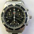 TAG Heuer タグホイヤー メンズ腕時計 シルバー ブラック