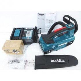 未使用品 makita マキタ 充電式 チェンソー MUC254DRGX バッテリー2個 充電器 セット