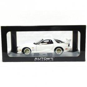 AUTO art オートアート 1/18 マツダ アンフィニ RX-7 FD チューンドバージョン 1991 ピュアホワイト