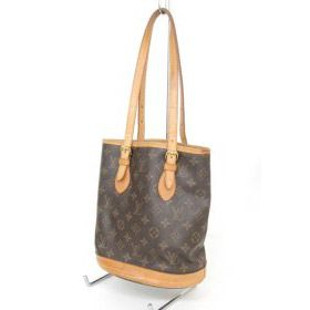 LOUIS VUITTON ルイヴィトン モノグラム バケットPM M42238