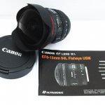 CANON FISHEYE EF 8-15mm 1:4 L USM F4L USM フィッシュアイ 魚眼   Canon キャノン デジタル一眼レフカメラ EOS40D レンズセット EF-S 18-55mm