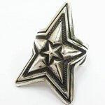 CODY SANDERSON コディ サンダーソン Star in Star Ring スターインスターリング 約17号 インディアンジュエリー 925 アクセ ナバホ