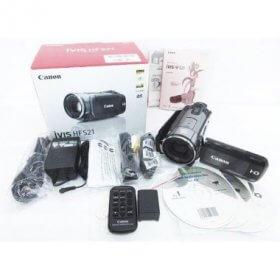 Canon キャノン iVIS HF S21 HDビデオカメラ フルハイビジョン アイビス 内蔵メモリ64GB バッテリーパック2個付き