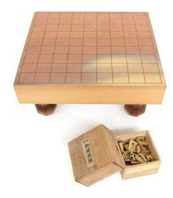将棋盤 足付き 将棋駒セット 板目 木製 趣味 ゲーム