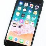 画面割れ Apple SoftBank iPhone7 Plus 32GB ブラック ○判定