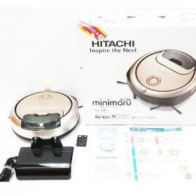 HITACHI 日立 ロボット掃除機 RV-EX1 クリーナー minimaru ミニマル シャンパンゴールド 2018年製 動作品 リモコン 元箱付き