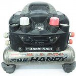 HITACHI KOKI 日立工機 EC1245H ハンディ 高圧 エアコンプレッサ 常圧 さわモデル 通電OK
