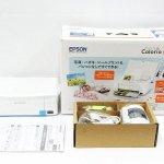 EPSON エプソン Colorio カラリオ コンパクトプリンター PF-70 スマホ対応 写真 ハガキ 無線 写真プリント Wi-Fi Direct