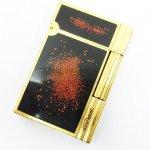 S.T. Dupont デュポン ガスライター ライン2 ギャラクシー Dロゴ 金粉 蒔き漆塗り 買い取りました
