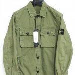 STONE ISLAND ストーンアイランド 17SS ワッペン付 ミリタリー シャツ 6615119WN アームロゴ買い取りました