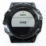 GARMIN ガーミン fenix 5X Sapphire マルチスポーツ GPSスマートウォッチ 腕時計 黒 ペリカンケース